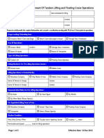 Sample Lifting Plan 300909