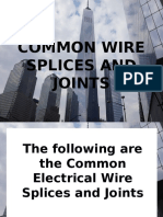 Splices and Joints Ppt