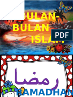 Bulan Bulan Islam