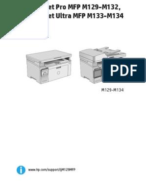 LJ_M129_134   Printer (Computing)   Fax