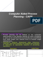 Computer Aided Process Planning-I