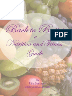 Nutrition and Fitness Guide