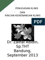 211556239-Dr-Zainal-Surat-Penugasan-Klinis-Dan-Rincian-Kewenangan-Klinis.pptx