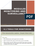 Module 6 - Monitoring and Surveillance