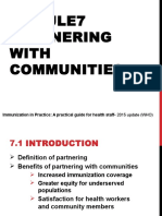 Module 7 - Partnering With Communities