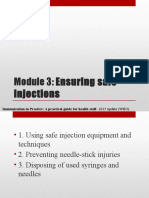 Module 3 - Ensuring Safe Injections