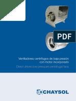 Chaysol Catalogo Con Motor Incorporado