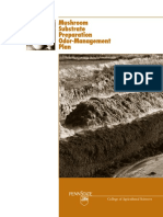 Mushroom Substrate Preparation Odor Management Plan