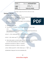 Examen Bac Mathematique Mathematique Annee 2014 Controle Math Bac.org.Tn
