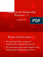 Requirements Engineering Process - 2