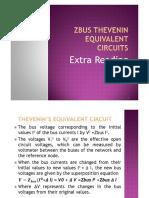 Zbus Thevenin Equivalent Circuit1