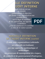 Nouvelle Definition de l Audit Interne