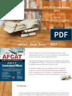 AFCAT Exam Books