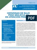 heparinas bajo peso molecular