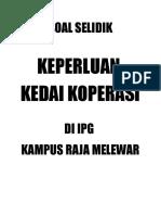 Cover Soal Silik Koperasi 2013