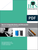 The U.S. E-Cigarette Device and Aftermarket Analysis & Forecast 2016-2025
