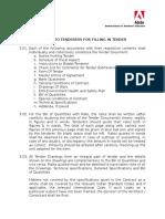 3 Instruction for Bidder