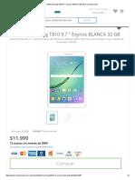 Tablet Samsung T810 9