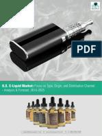 U.S. E-liquid Market