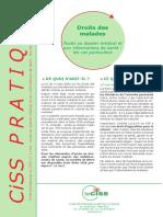 Acces Au Dossier Medical-Cas Particuliers-fiche-CISS
