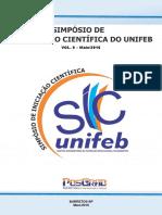 IX Simposio de Iniciacao Cientifica Do UNIFEB