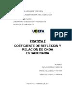 Informe Radiacion Practica 2