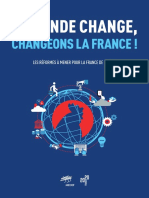 [Medef] Livre Bleu - Le monde change, changeons la France ! 14.02.2017