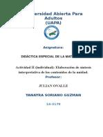 Didactica Especial Matematica 2