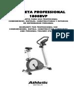 Bicicleta Professional 1800BVP