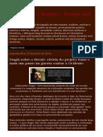 Dugin Sobre o Brexit Vitoria Do Projeto.html