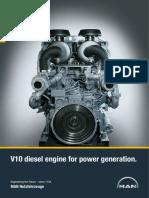 D2840_V10 Diesel Generator