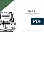 BALL Watch Catalogue 2014 - 2015