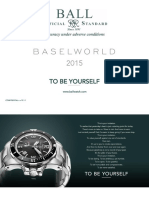 BALL Watch Company catalogue 2015