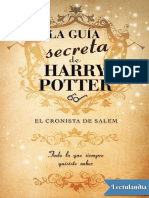 La Guia Secreta de Harry Potter - Pablo C Reyna
