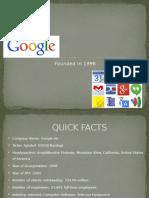 Sample Google Fa