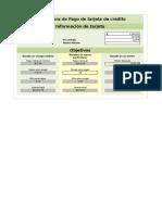 Calculadora de Deuda de Tarjeta de Credito en Excel