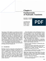 Fundamentals of Hydraulic Transients