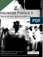 Hacienda Publica 2 - Teoria Ingresos Publicos - Paniagua Soto Fco J