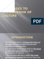 5 Responses to Phenomenon of Culture