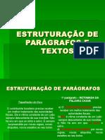 ESTRUTURAÇÃO DE PARÁGRAFOS E TEXTOS.ppt