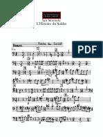 Stravinsky l Histoire Du Soldat-bassoon Parts