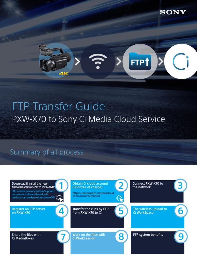 Pxw x70 Ftp Transfer Guide 0316 | File Transfer Protocol | Wireless