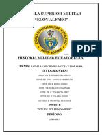Trabajo de Historia Militar