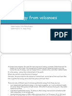 Energy From Volcanoes