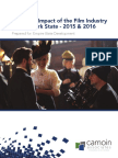 2017 Report on NY film tax credits