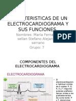 Caracteristicas de Un Electrocardiograma y Sus Funciones