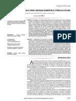 Avaliação Psicológica Para Cirurgia Bariátrica_ Práticas Atuais