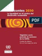 Horizontes 2030 Cepal
