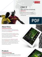 Once Football, Products