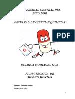 Fichas de Medicamentos Final
